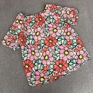Tops - Light floral top
